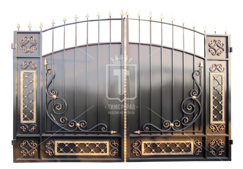 Куплю ворота из метала забор для дачи купить саратов