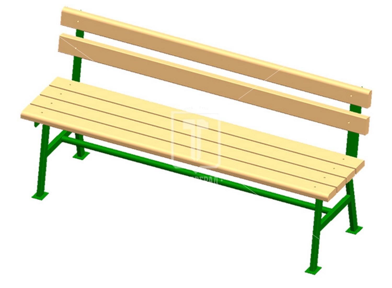 Как сделать скамейку со спинкой своими руками: чертеж, размеры 68