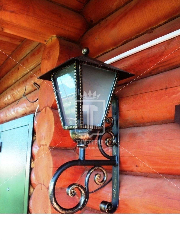 Кованые фонарь как сделать