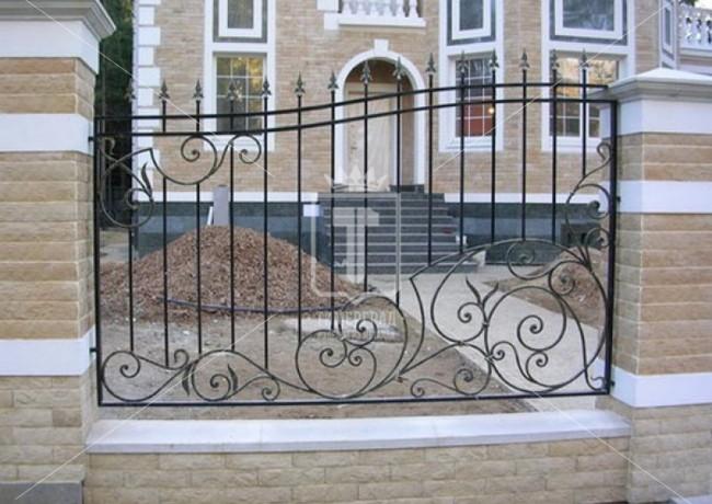 Забор с волнистым верхом (Арт. 021)