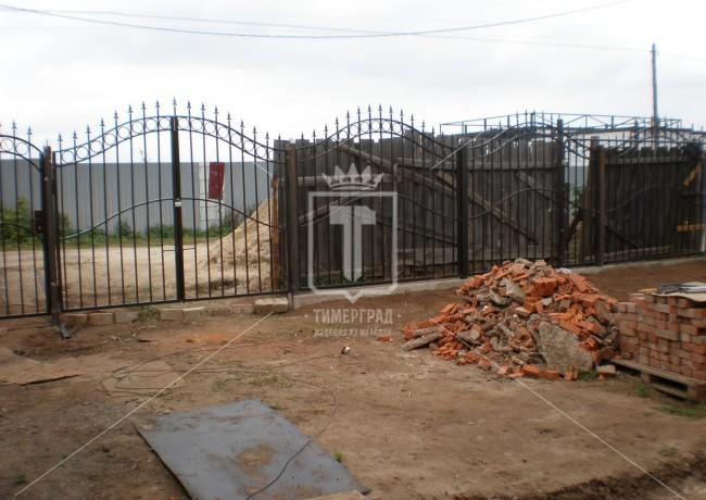 Забор с волнистым верхом (Арт. 036)