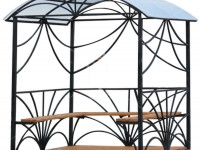 Эскиз беседки с декоративными элементами в виде ламбрекенов (Арт. 045)
