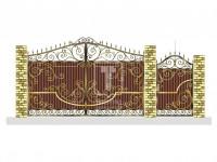 Ворота в нарядных кружевах (Арт. 066)