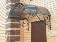 Козырек со сдвоенными декоративными элементами (Арт. 047)