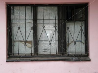 Решетка на окно с гнутыми элементами (Арт. 039)
