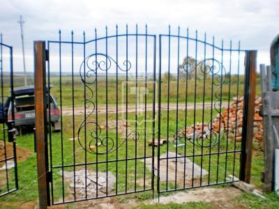 Прозрачные ворота с простым узором (Арт. 020)