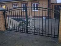 Невысокие прозрачные ворота (Арт. 043)