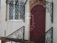 Каркас козырька без покрытия с декоративными элементами (Арт. 005)