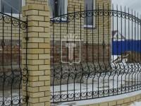 Забор с выпуклой средней линией (Арт. 047)