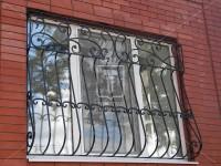 Выпуклые решетки на окна с барашками (Арт. 003)