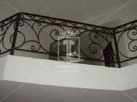 Кованое ограждение для балкона (Арт. 053)
