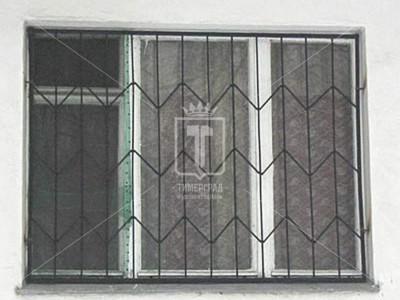 Металлическая решетка с зигзагами (Арт. 036)