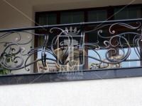 Балконное ограждение из массивного прутка (Арт. 023)
