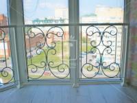 Балконное ограждение в виде бабочек (Арт. 016)