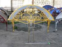 Козырек желто-золотистого цвета (Арт. 015)