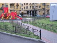 Ограждение для городских дворов (Арт. 031)