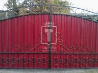 Ворота с «раскаленными барашками». (Арт. 065)