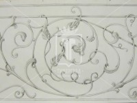 Перила с листочками (Арт. 036)