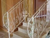 Перила на лестницу с элементами в виде виноградной лозы (Арт. 015)