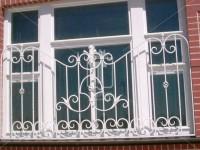 Оконная решетка на две трети высоты окна (Арт. 008)