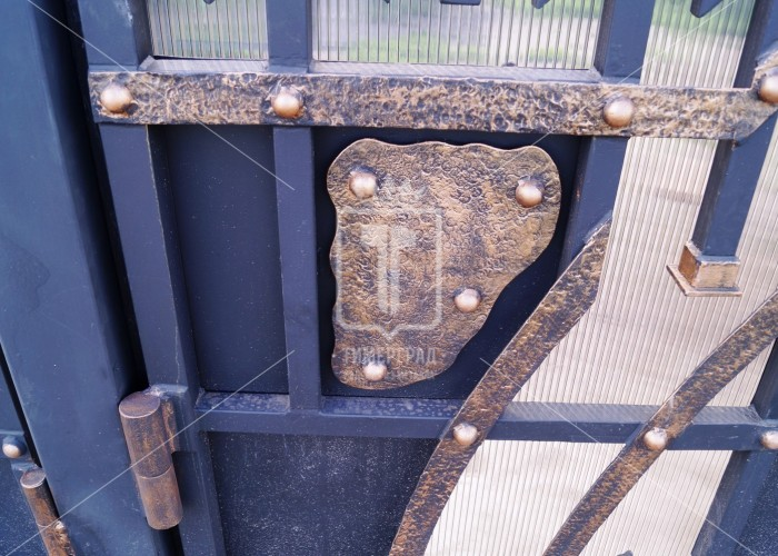Ворота в стиле средневековья (Арт. 001)