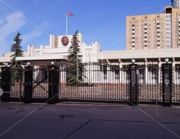 Парадные ворота для Посольства Северной Кореи в Москве